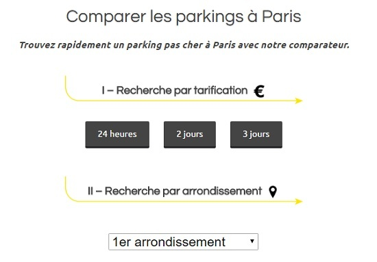 parking paris 8