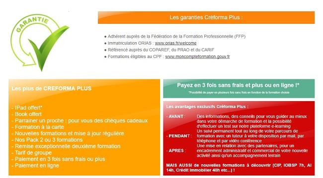 tarif formation courtier