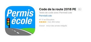 application code de la route